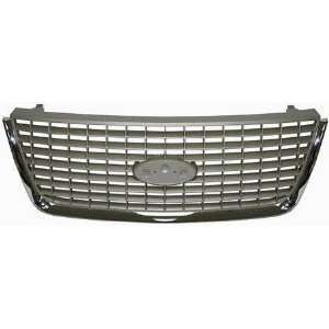 FORD EXPEDITION GRILLE SUV, Chrome/Painted Silver, Eddie Bauer Model