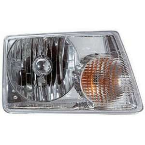 2001 09 FORD RANGER HEADLIGHT, PASSENGER SIDE Automotive