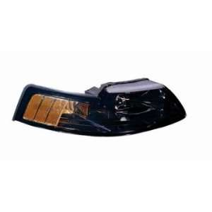 01 02 HeadLight Assembly Passenger Side W/BLK BEZEL