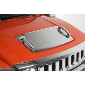 Cover with Chrome Hood Handles (Fits 2006 2010 Hummer H3 & H3Ts