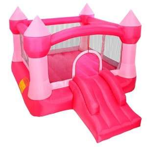 Cloud 9 Princess Inflatable Bounce House   Pink Castle