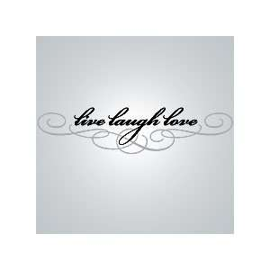 Live Laugh Love Vinyl Wall Decal   World Market