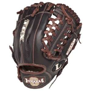 Louisville Slugger Omaha Pro Ball Glove (Brown, 11.5 Inch