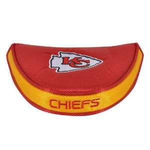 Kansas City Chiefs NFL Mallet Putter Cover