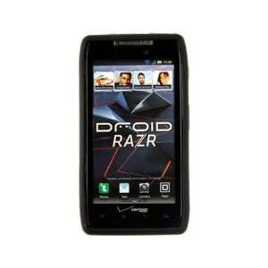 Phone Protector Cover Case Black For Motorola Droid RAZR Cell Phones