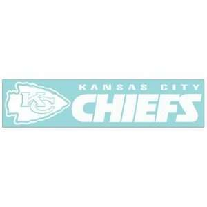 NFL Kansas City Chiefs 4x16 Die Cut Decal Sports