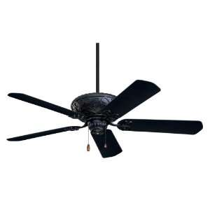 Emerson CF670BQ Devonshire Indoor/Outdoor Ceiling Fan, 52