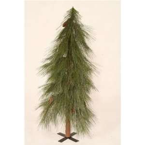 7 Natchez Pine Artificial Christmas Tree   Unlit