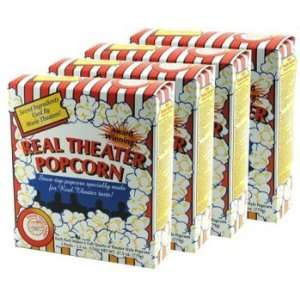 Real Theater All Inclusive Popcorn Popping Kits 27.5 Ounce box (Pack