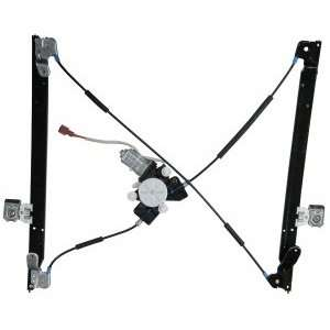 Chrysler Front Power Window Regulator with Motor Passenger