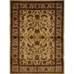 Home Dynamix Royalty Machine woven Ivory Oriental Rug   3208 100Runner