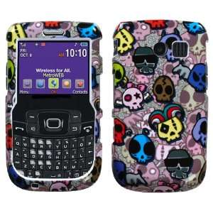 Skull Party (Sparkle) Phone Protector Cover Case Cell Phones