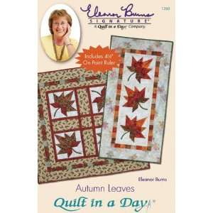 Quilt In A Day Autumn Leaves Ptrn Arts, Crafts & Sewing