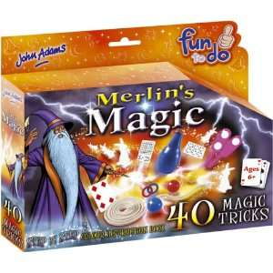 Merlins Magic 40 Tricks Toys & Games