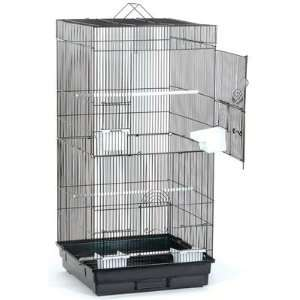 Blue Ribbon Pet S 1818 2 BK SM Extra Tall Square Roof Bird