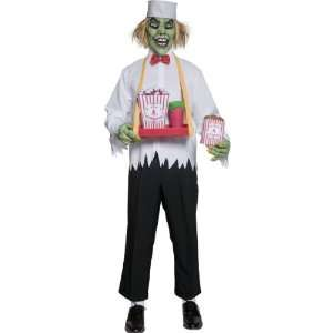 Evil Scary Sinister Depraved Food Concession Man Costume