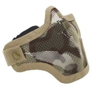 Steel Striker Gen5 Metal Mesh Lower Half Mask   Desert Tan Sports