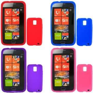 iFase Brand Samsung i937 Combo Solid Blue + Solid Red + Solid Hot Pink