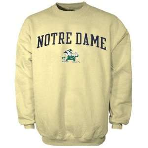 adidas Notre Dame Fighting Irish Gold In Play Sweatshirt