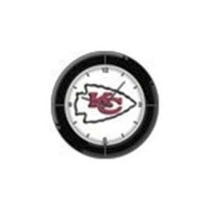 NFL Kansas City Chiefs Neon Wall Clock