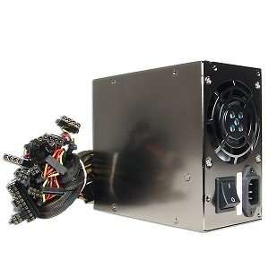 ASYS 650W 20+4 pin Dual Fan ATX PSU Electronics