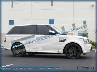 MATTE BLACK RIMS WHEELS AND TIRES PACKAGE RANGE ROVER SPORT NIB
