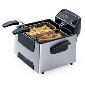 Presto ProFry Stainless Steel Dual Basket deep fryer