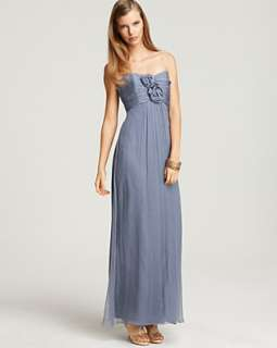 Amsale Strapless Rosette Gown   Womens   Bloomingdales