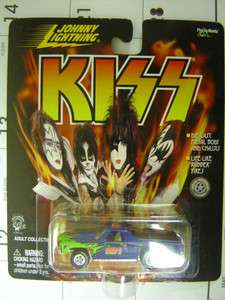 JOHNNY LIGHTNING   KISS   DIECAST METAL TRUCKS 0661
