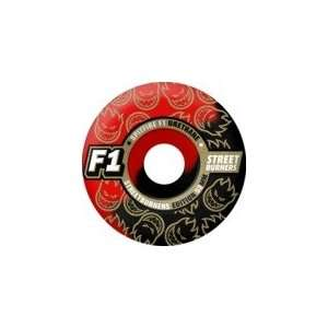 / Red Skateboard Wheels   52mm 100a (Set of 4)