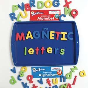 Uppercase and Lowercase English Spanish Magnetic Letters Combo Set